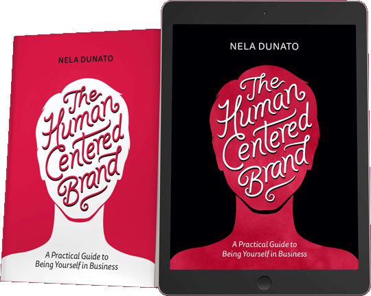Human Centered Brand mockup ebook paperback